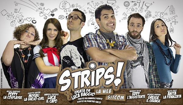 STRIPS! LA SITCOM vi aspetta al Cartoon Club – Rimini Comix