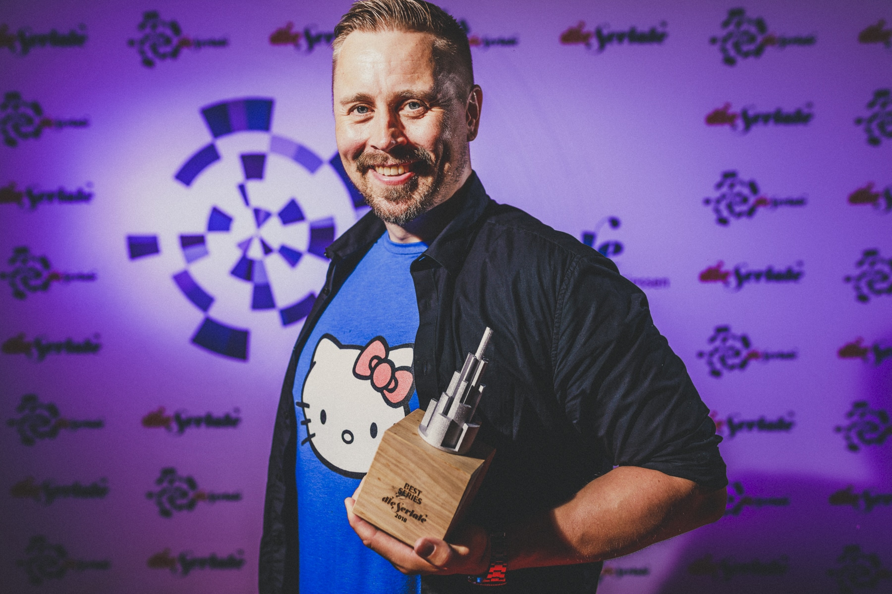BEST SERIES - Rolf Lindblom, writer/director/producer of End Unsung | Photo by Christoforos Mechanezidis