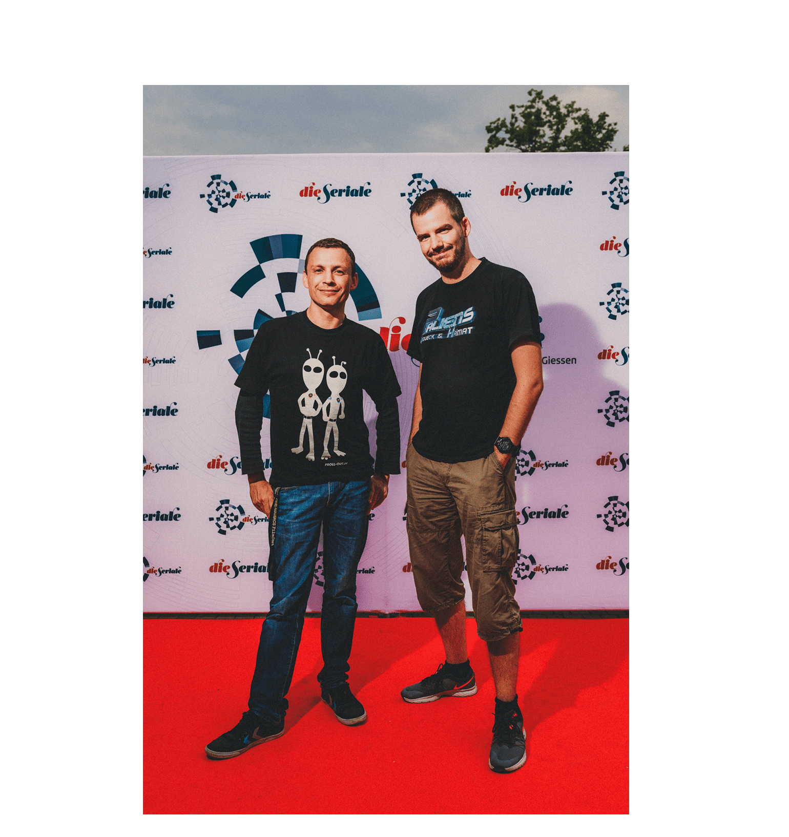 """BEST ANIMATION/PUPPETRY - Konrad Simon, producer and Thomas Zeug, creator and director of """"2 Aliens"""""""