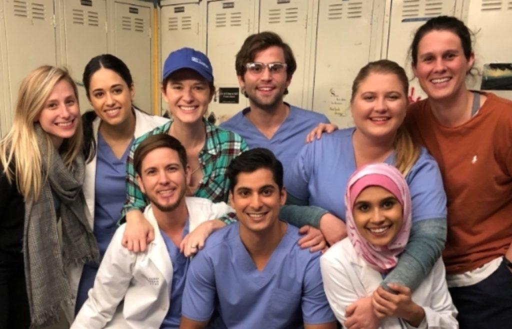 Grey's anatomy b team cast